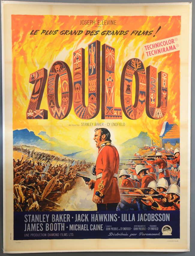 Zulu 1964 French Grande Film Pos Lot 844 10 Lno List View 32