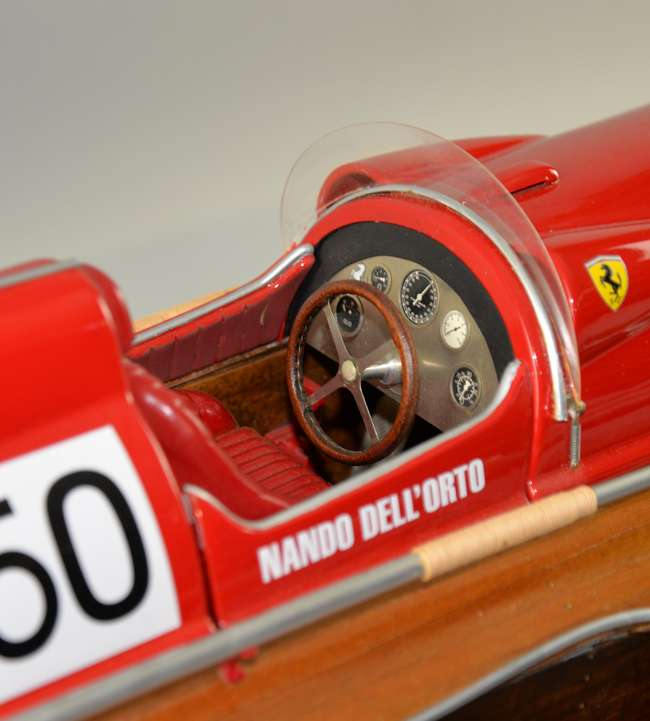 A well made model of an Arno X1 Ferrari Timossi Racing Boat  Nando