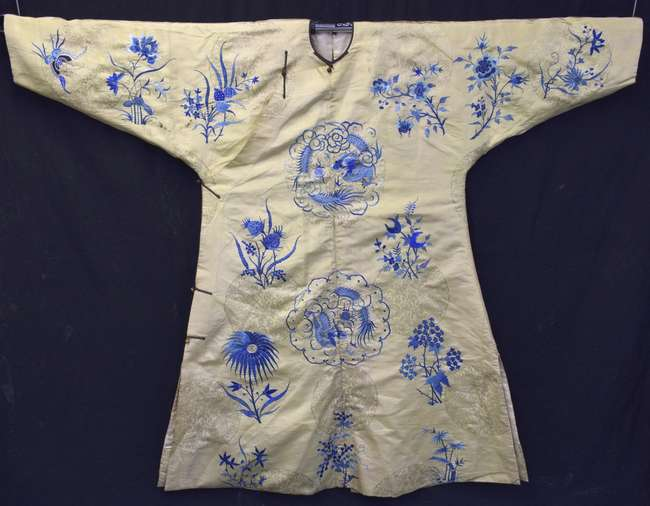 788ccdf1e1 Chinese imperial lady s robe of yellow