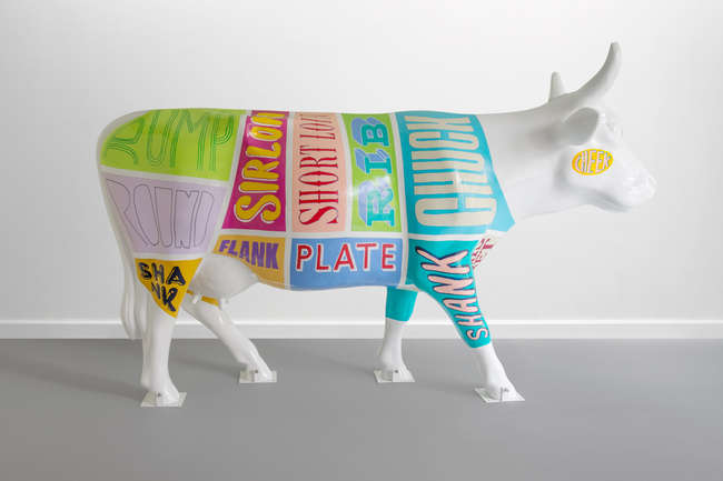 †  Have A Butchers -  A note from the artist: 'Have a Butchers' is inspired by different cuts of beef