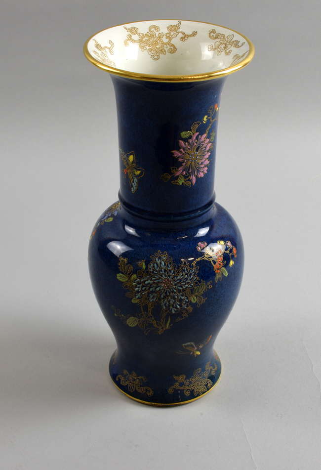 Carlton Ware Vase Lot 110 No Cat