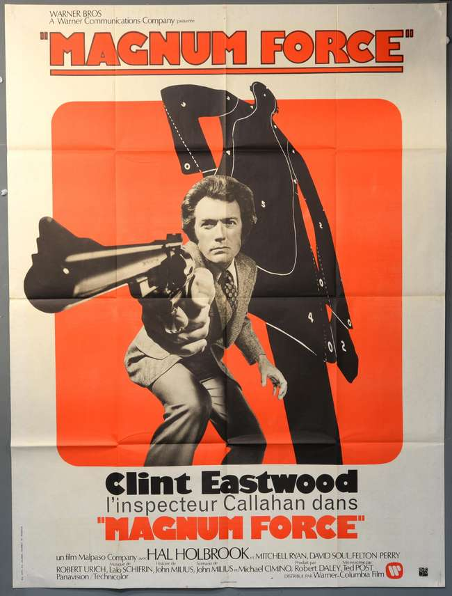 Magnum Force (1973) French Grande film poster, starring