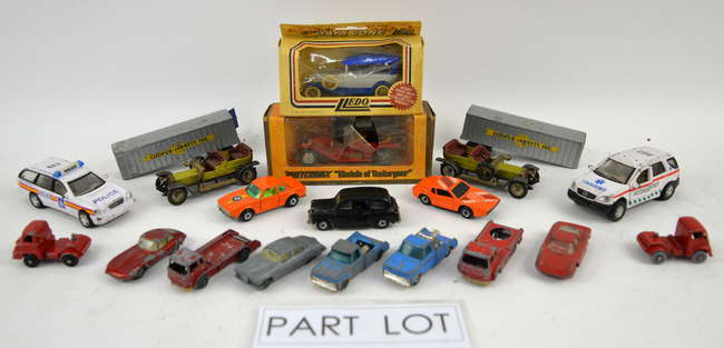 A quantity of predominantly Lesney and Matchbox diecast
