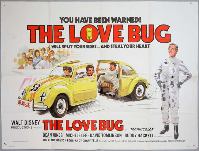 Image result for the love bug film poster