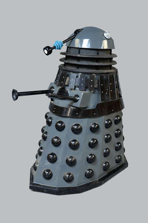 Doctor Who - A full scale replica Dalek as seen in the BBC TV Series 'Genesis of the Daleks'