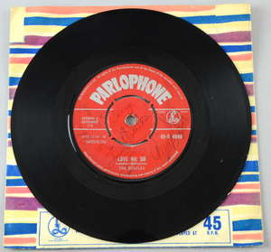 The Beatles Love Me Do (Parlophone