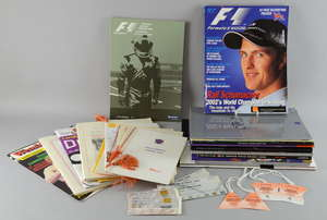 Collection of sporting programmes including Formula 1 (Silverstone)