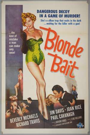 Blonde Bait (1956) US One Sheet film poster