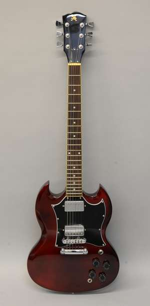 XS Electric Guitar, Serial 20347747, with case