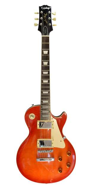 Epiphone Gibson Les Paul Electric Guitar, serial number 9060320, with hard case