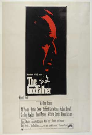 The Godfather (1972) UK One sheet film poster