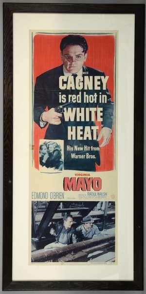 White Heat (1949) US Insert film poster
