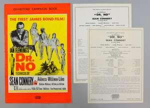 James Bond Dr. No (1962) UK Exhibitors' Campaign Book