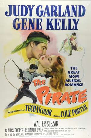 The Pirate (1948) US One Sheet film poster
