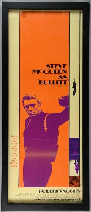 Bullitt (1969) US Insert film poster