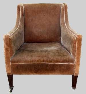 19th century mahogany framed arm chair