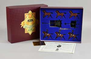 Britains; Gun Team Royal Horse Artillery Kings Troop