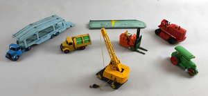 Dinky Toys Pullmore car transporter and loading ramp