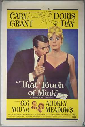That Touch Of Mink (1962) US One Sheet film poster