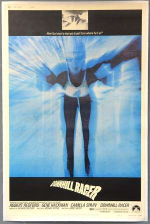 Downhill Racer (1969) US 40 x 60 film poster