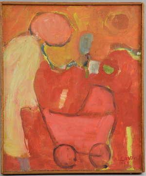 Arthur Easton (1939) Abstract