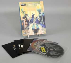 Oasis - Definitely Maybe 2 DVD 2004 set signed by Noel Gallagher