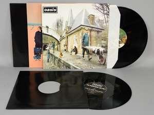 "Oasis - 12"" Vinyl's all mint original pressings"