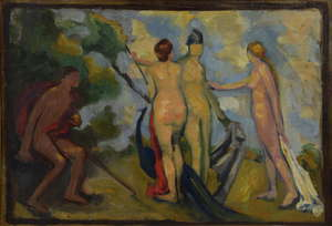 20th century - study of four nudes