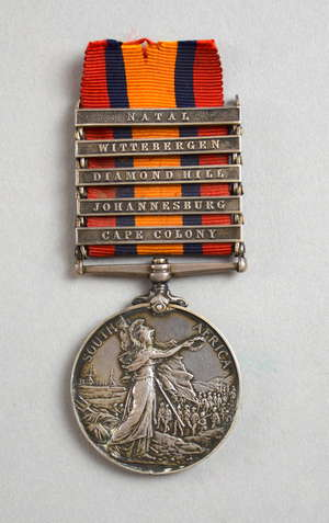 Queen's South Africa (1899-1902) medal 2nd type