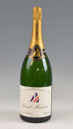 Champagne - Magnum of Saint Maurice - America's Cup - Champagne.