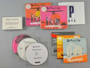 FatBoy Slim - 'Palookaville' album promo CD 'Slash Dot Dash' 2 different CD Singles. 'Champion Sound' Promo CDR. Portishead Live in NYC promo sampler CD. Happy Mondays 'Playground Superstar' Chemical Brothers 'The Golden Path' single pro