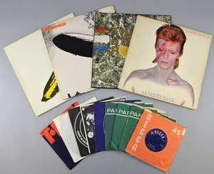 A personal collection of Vinyl records spanning the 1950's to 1990. Approx 630 vinyl albums