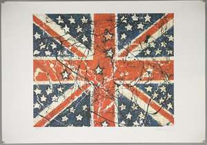 Stone Roses Artwork - John Squire limited edition print 65/500 'Waterfall' 1988