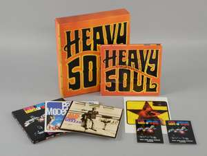 Paul Weller - Signed 'Heavy Soul' Special Edition CD Album plus a promotional box containing VHS EPK and interview disc for the album launch. 'Days Of Speed - Selections' 3 CD promo pack plus 2 passes for Later with Jools Holland album special. â€