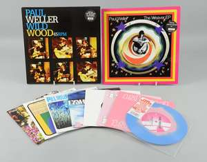 """Paul Weller - Mint Vinyl collection of  'The Weaver EP' Numbered 10"""""""