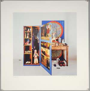 Peter Blake - A signed limited edition print No. 23/100