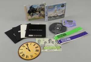 Oasis - Signed by Noel Gallagher 'Be Here Now' 1997 CD and promo CD. 'Don't Go Away' Sealed Japanese Single CD  2 'Stand By Me' promo CD's one with '(I Got) The Fever