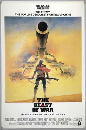 Seven Vic Fair designed posters, UK & US 1-sheets for The Beast of War, The Last Emperor, Gole x2 (printers proofs) & Wilt, Under Suspicion (printers proof) & 1982 Exhibition poster, all rolled, various sizes (7)