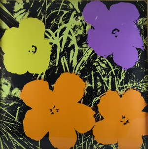Sunday B Morning, suite of ten 'Flowers Portfolio' after Andy Warhol, screenprint on museum board, each 91.5cm x 91.5cm, with Certificate of Authenticity.