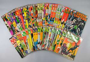 Green Lantern (DC) 100+ comics from 1961 onwards, No's 8, 9, 11-13, 15-75, 77-89, specials & duplicates