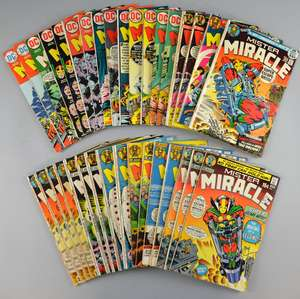 Mister Miracle (DC) 36 comics from 1971 onwards including No's 11-8 & duplicates