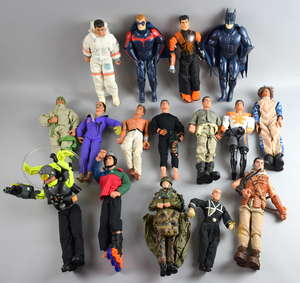 Large collection of Action Man and other figures