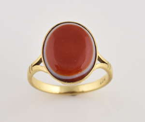 be8560a4fc5 Banded agate ring