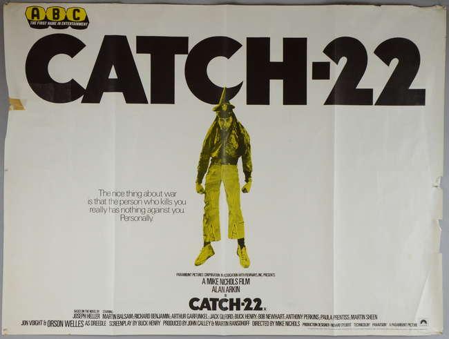 anti war themes in catch 22