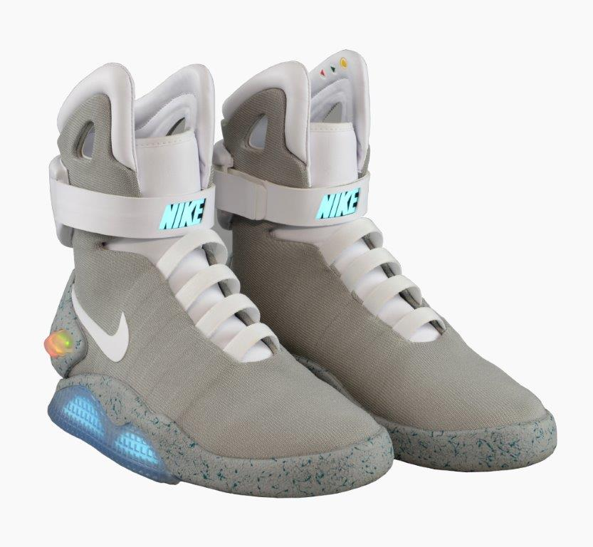 028717883f8 Back To The Future s Iconic Nike Air Mag Trainers Going Under The Hammer