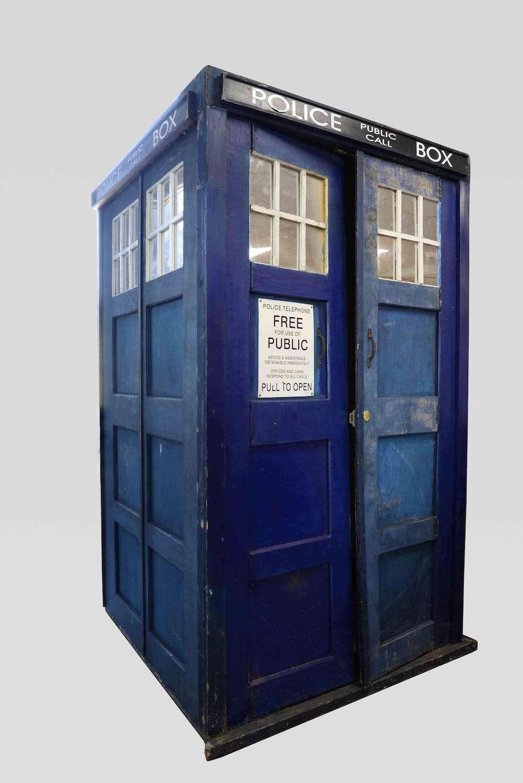 original 1960s doctor who tardis going under the hammer news blog