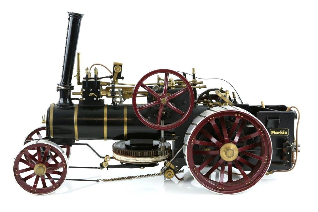 traction engine auction