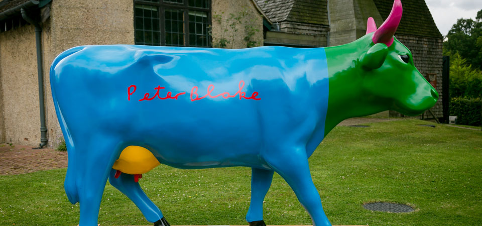Cow Parade Auction Part 2 - Gala Dinner to be held at Hampton Court