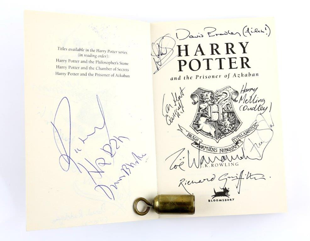 Signed Harry Potter Auction