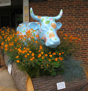 Cow Parade Auction, to be held at Sandown Park Racecourse